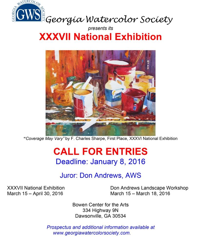 GWS call for entries 2016