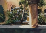 Gwendolyn C.  Bragg --- The Old Cloister 10 X 14