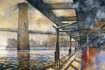 Iain Stewart ---To the Brooklyn Bridge 14 x 22