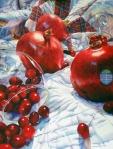 "Chris Krupinski--""Pomegranates and Cranberries"""