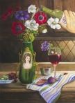 "Philomena Sculco--""Thirsty Anemones"""