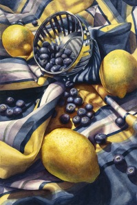 Marsha Chandler, Blueberries And Lemons