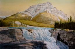 Patrick Faile, Athabasca Falls Morning