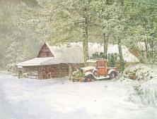 Corky Coldman, Mountain Morning, Award: Patron Fine Art Award, Awarded by Richeson School of Art American Frame Co.