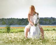 Marsha Nelson, Zara in Sweden, Award: Patron Fine Art Award Awarded by Forstall Art Center
