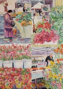 Gloria Sampson, Sunday Market