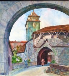 Jaceena Shepard, A Rothenburg Gate