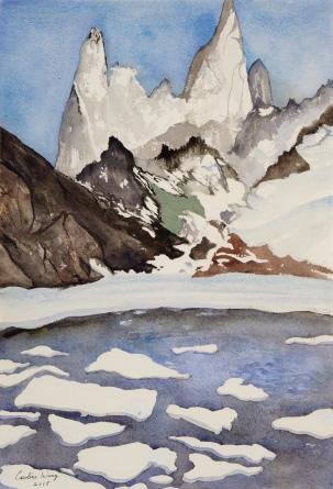 Caroline K. Wang, Mountain In Argentina