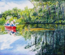 Michelle B. Wise, Manatee Sighting On The Wakulla River