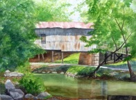 MCDAVID CHARLOTTE Covered Bridge